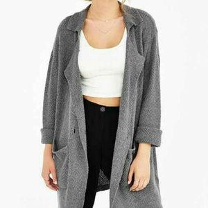 UNIFxUrbanoutfitters Trench Cardigan!